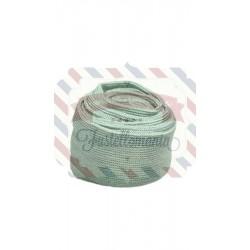 Tubolare mini colore verde salvia 3,5x100 cm
