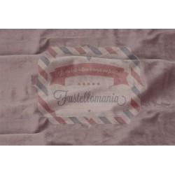 Velluto termoformabile colore rosa antico 50x70 cm