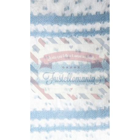 Tubolare voile colore azzurro 50 cm