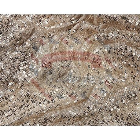 Tessuto paillettes 125x100 cm