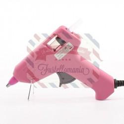 Pistola per colla a caldo mini rosa