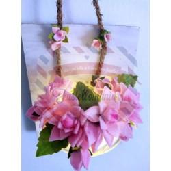 Fustella M Tris di fiori stella