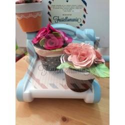 Fustella XL Vasetto per piante e fiori 3D