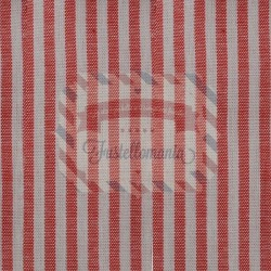 Tessuto 100% cotone 45x50 cm basic red striped