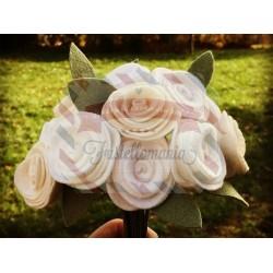 Fustella L Rose due misure bordi lisci e foglia