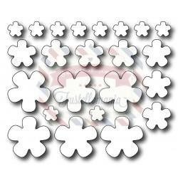 Fustella metallica Set fiorellini