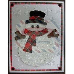 Fustella Sizzix Originals Pupazzo di neve