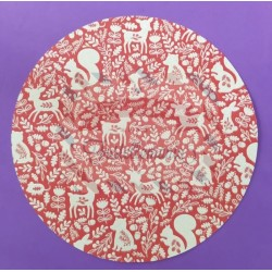 Fustella A4 Cerchio bordo liscio