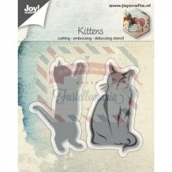 Fustella metallica Joy! Crafts Kittens