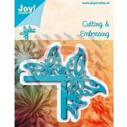 Fustella metallica Joy! Crafts Cutting & Embossing Bordo di Farfalle