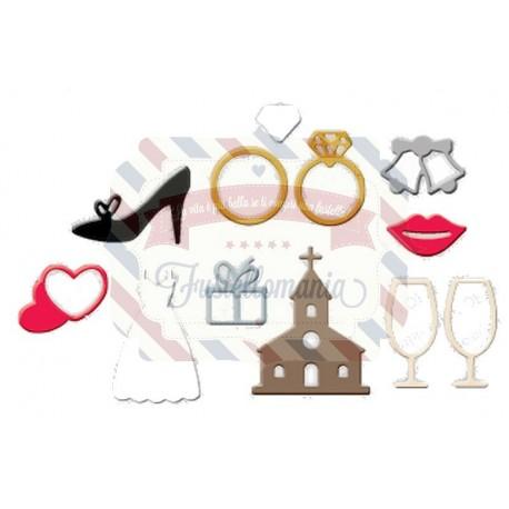 Fustella metallica Oggetti matrimonio