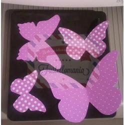 Fustella Sizzix Bigz Stampin UP Farfalle bellissime