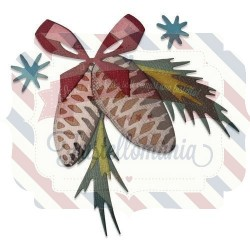 Fustella Sizzix Thinlits Decori festivi colorize