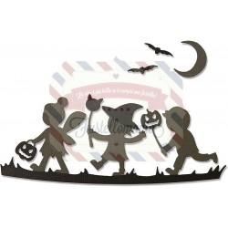 Fustella Sizzix Thinlits Sagome di Halloween by Lisa Jones