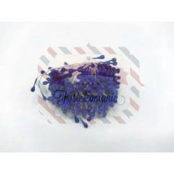 Mazzetto di pistilli colore blu 1,5 mm 300 pezzi