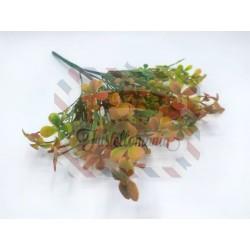 Rametto mini quadrifogli colore autunno