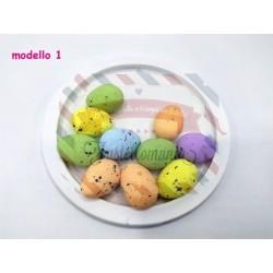 Set 10 uova di polistirolo set a scelta
