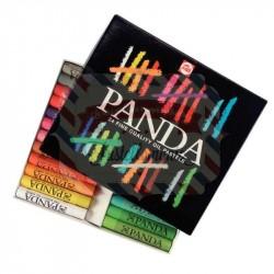 Set pastelli olio Panda 24 colori