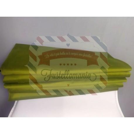 Tessuto la Cipiglia 145x50 cm verde lime col 172