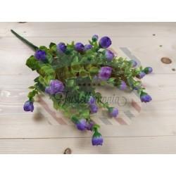 Rametto con roselline colore viola