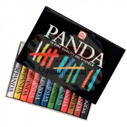 Set pastelli olio Panda 12 colori