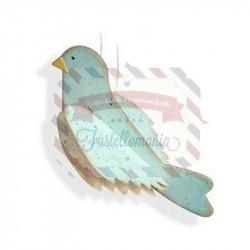Fustella Sizzix Bigz Uccellino 1
