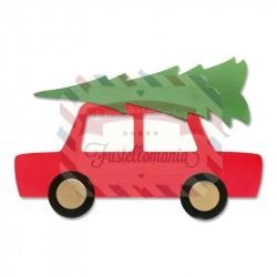 Fustella Sizzix A4 Car & Tree
