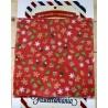 Pannolenci stampato 1mm fantasia renna albero stella di Natale 25x25 cm