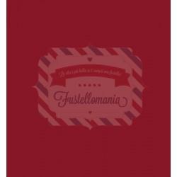 Pannolenci 1 mm colore rosso vino 5 fogli formato A4
