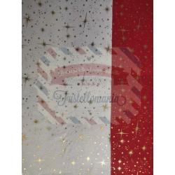 Pannolenci stampato 1mm fantasia stella polare 35x50 cm colore a scelta