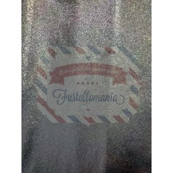 Pannolenci argento 1mm Natale 35x50 cm