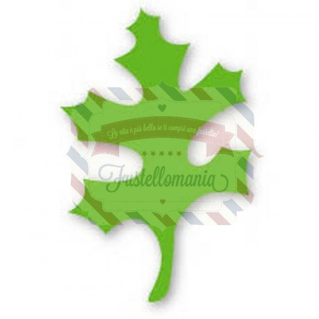 Fustella Sizzix Originals Green Foglia 4