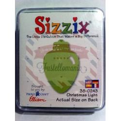 Fustella Sizzix Originals Green Luce di Natale