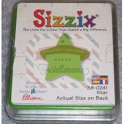 Fustella Sizzix Originals Green Stella
