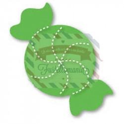 Fustella Sizzix Originals Green Caramella