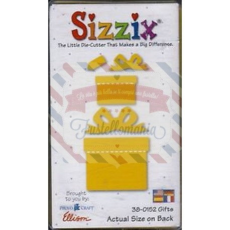 Fustella Sizzix Originals Yellow Regali