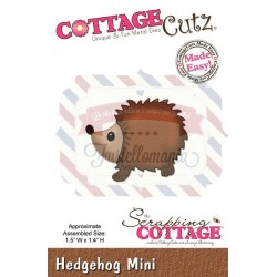 Fustella metallica Cottage Cutz Hedgehog mini