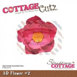 Fustella metallica Cottage Cutz 3D Flower 2