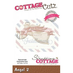 Fustella metallica Cottage Cutz Angel 2