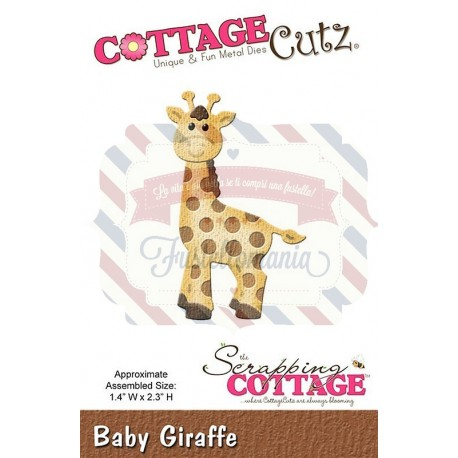 Fustella metallica Cottage Cutz Giraffe