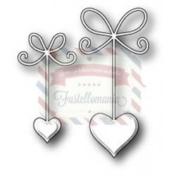 Fustella metallica Memory Box Precious Hearts