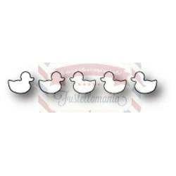 Fustella metallica Memory Box Baby Duckies