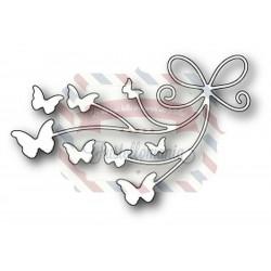 Fustella metallica Memory Box Beloved Butterflies