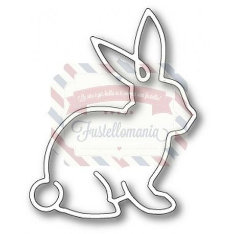 Fustella metallica Memory Box Sketch Bunny