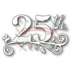 Fustella metallica Memory Box Twenty Fifth Celebration