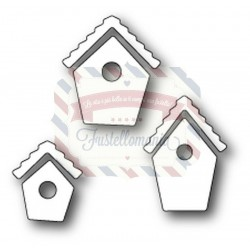 Fustella metallica Memory Box Bitty Birdhouses