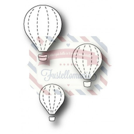 Fustella metallica Memory Box Floating Balloon Trio