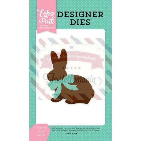 Fustella metallica Echo Park Chocolate Bunny