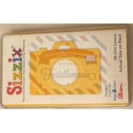 Fustella Sizzix Originals Yellow Macchina fotografica