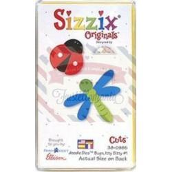 Fustella Sizzix Originals Yellow Coccinella e Libellula